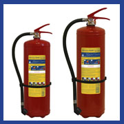 Foam stored pressure fire extinguishers MIG E