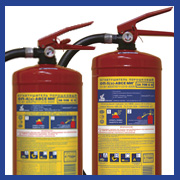 Powder fire extinguishers MIG